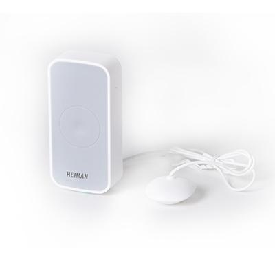 Quieren evitar el daño grave de agua, el detector de inundación Heiman Wireless es la herramienta ideal. El sensor le avisará con las notificaciones push, tan pronto como se detecta una fuga en su casa. A través de la red Wi-Fi que permiten favor del sens