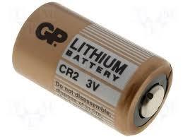 Visonic bateria de lítio CR2 3 Volt