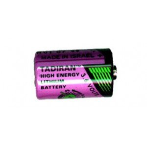 Visonic TL-2150 Lithium battery. 3,6v Lithium 1/2 AA for old PIR Visonic MCPIR3000 and K-940MCW. This type of battery was also used in Visonic magnetic contacts for 2004.