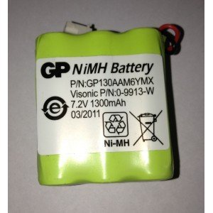 Battery Pack NiMH 7.2V / 1.3Ah for Powermax Plus