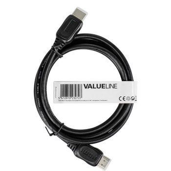 Alta velocidad por cable HDMI está diseñado para resoluciones de vídeo de 1080p y superior para poder, incluidas las tecnologías avanzadas de visualización, tales como 4K, 3D y Deep Colour, y un canal de datos dedicado adicional. Este canal también se lla