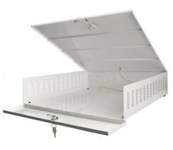 AWO471 DVR coffre-fort grand ventilateur en toute sécurité avec une taille interne: b545xh125xd570mm externe: b555xh145xd575mm pour protéger votre enregistreur à disque dur par exemple, votre appareil photo.