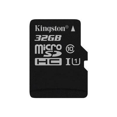 tarjeta SD de 32 GB Kingston Micro. Esta memoria tiene una gran capacidad y cumple con los requisitos de especificación SD Association a la clase 10 para contestar. El mapa puede ser perfectamente utilizado para almacenar las imágenes de las cámaras de Hi