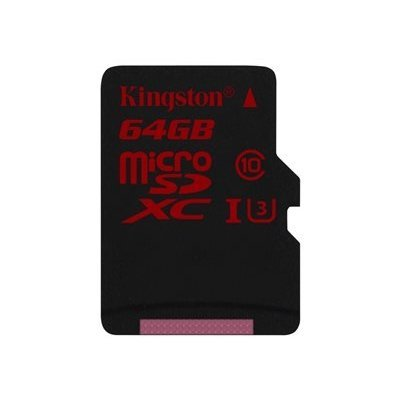 Kingston 64Gb Micro SD card. This memory card has a large capacity and meets the SD Association Specification requirements that Class 10 must meet. The card can be perfectly used to store images from Hikvision camera '...