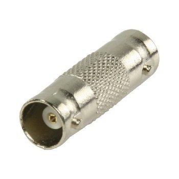 BNC peça de acoplamento cada conector. Este conector permite que você facilmente conectar ou estender um dois cabos coaxiais com conectores BNC juntos.