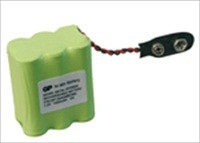 "Pacco batteria Visonic NiMH 7,2 V / 1,3 Ah per il ""vecchio"" Powermax"