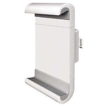 Suporte para montagem em uma parede para criar uma casa sólida tablet-padrão em qualquer lugar da casa. O suporte é equipado com um aperto automático e todos os prendedores necessárias para uma montagem rápida e fácil.