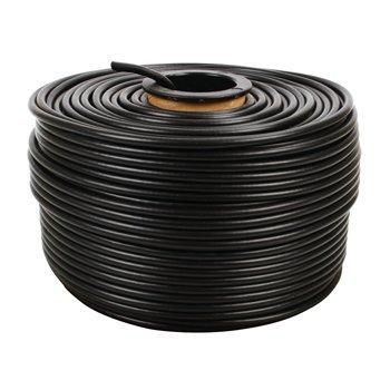 FTP CAT 5e câble pour l'extérieur sur le rouleau 100 m. Ce câble CAT5e comprend des conducteurs blindés, et est conçu pour une utilisation en extérieur. Il est équipé d'une enveloppe de polyéthylène stable aux UV, résistant à la déchirure. Le câble est pa