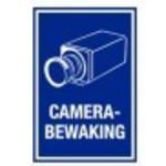 Warning sign Camera surveillance PVC