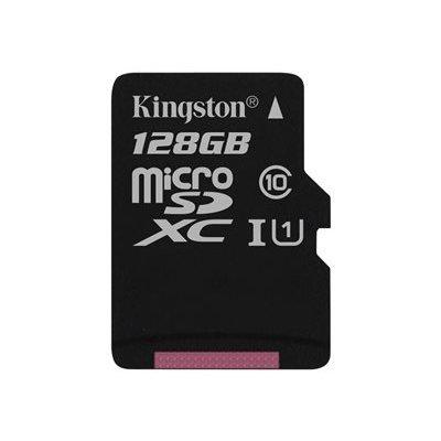 tarjeta SD Kingston de 128 GB Micro. Esta memoria tiene una gran capacidad y cumple con los requisitos de especificación SD Association a la clase 10 para contestar. El mapa puede ser perfectamente utilizado para almacenar las imágenes de la cámara de Hik