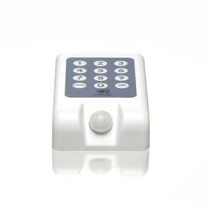 The Mobeye i110 guards your belongings wherever you are. A matter of filing and arming with your user code. Securing has never been easier. All-in-one GSM alarm system with built-in motion detector, temperature sensor, etc.