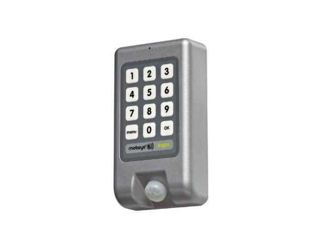Il Mobeye Argos monitora la vostra proprietà, ovunque ci si trovi. Una questione di deposito e cambiare il codice utente. non è stato in precedenza sicuro più facile. All-in-One sistema di allarme GSM con incorporata rilevatore di movimento, sensore di te