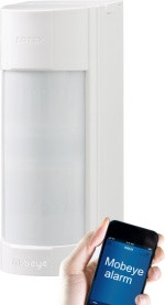 The Mobeye Outdoor All-in-one alarm can be used flexibly and is ideally suited for outdoor areas and places where other motion detectors are sensitive to false alarms. With the Mobeye outdoor detector, intruders are caught at an early stage ...