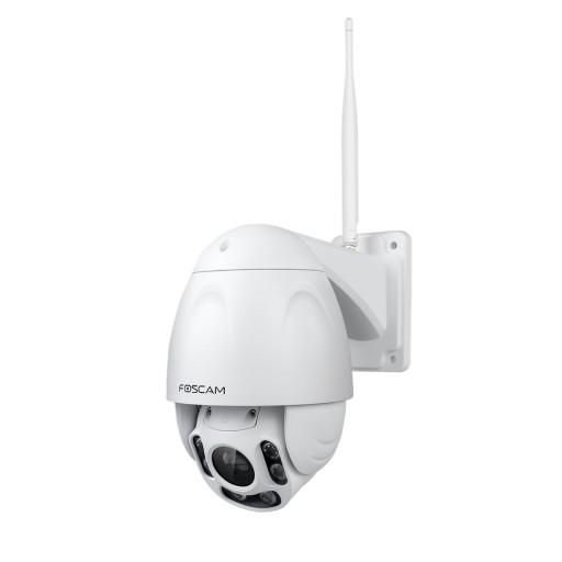 Wireless ad alte prestazioni e la telecamera IP HD ad alta risoluzione. gamma IR di FI9928P per la visione notturna fino a 60 metri. zoom ottico 4x, scheda di memoria SD.