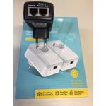 Adaptador Powerline 600Mbps con PoE