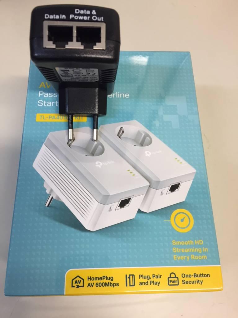Adaptateur CPL 600Mbps avec PoE