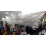 Grumpy Machine à brouillard GR-100 - 1350m3 après 60 secondes
