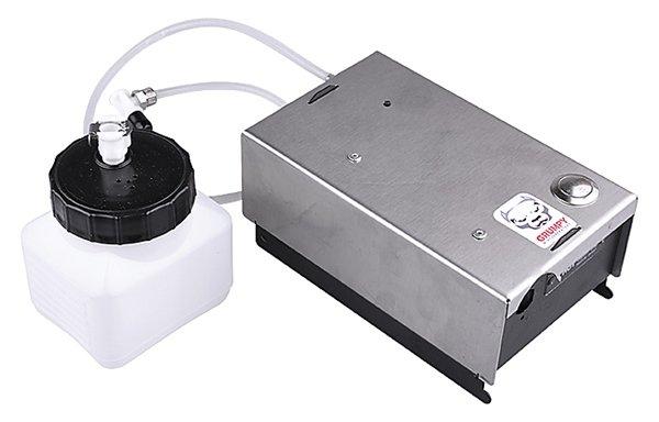 La machine à brouillard mobile GRM-1 peut être utilisée n'importe où! Toute votre propriété peut maintenant être protégée à n'importe quel endroit. De nombreux sites nécessitent une sécurité efficace rendue possible par une machine à fumée. Pensez par exe