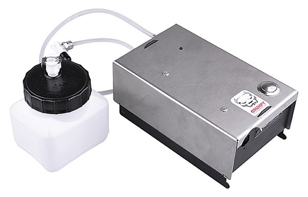 The GRM-1 mobile fog machine can be used anywhere! All your property can now be protected at any place. Many locations need an effective security that is made possible by a fog machine. Think for example of a luxury car, the tools in your company car or o