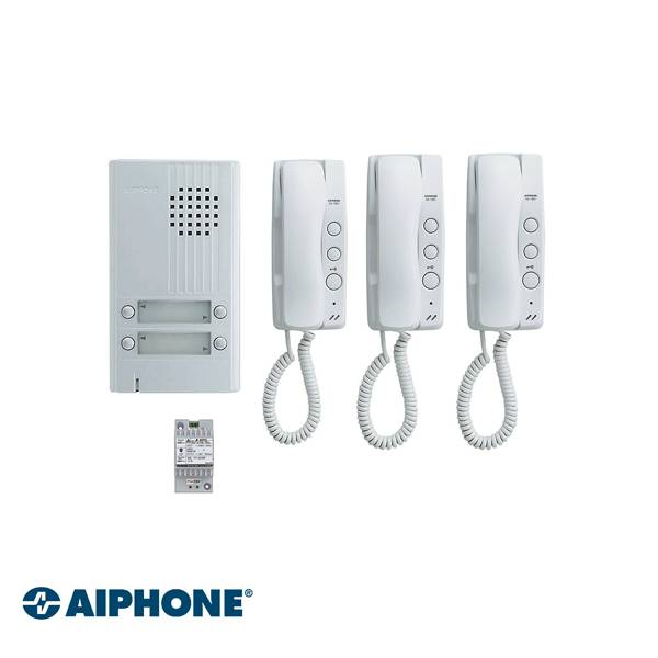 AP-KITDA3, Audio Set, 3 Appartementen