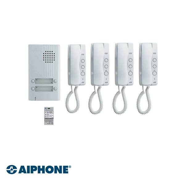 AP-KITDA4, Audio Set, 4 Appartementen