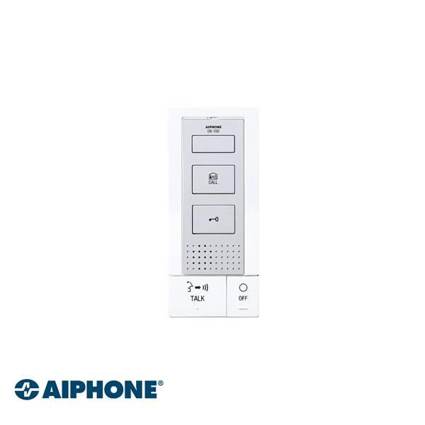 """Comunicação mãos-livres Opção para alternar para o modo """"pressionar para falar"""" (em ambiente ruidoso) Botão para comunicação comum entre estações internas Volume de toque ajustável e comutável (LED acende em vermelho quando o toque é desligado) Botão de c"""