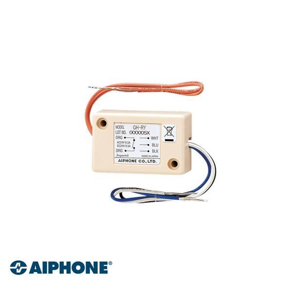 Campana auxiliar de relé para estaciones GT Conexión automática con la iluminación de entrada del relé si está instalada en la estación de puerta (en GTDAL) Corriente de conmutación: 0.5 A a 24 V CA o CC Dimensiones: 35 (H) x 55 (W) x 22 (D) mm