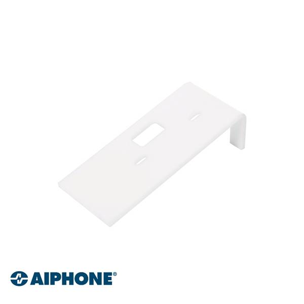 Para post de audio de manos libres Serie DB o poste de audio con bocina Plástico de PMMA resistente a golpes 4 mm de espesor Blanco Dimensiones: 145 (alto) x 65 (ancho) x 40 (alto) mm