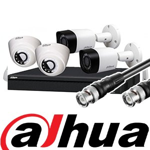 Dahua HDCVI camera surveillance