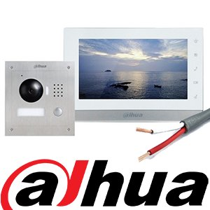 Dahua 2 wire intercom system