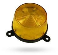 A Jablotron TK-34 com fio de flash exterior laranja é adequado tanto para o Oasis como os sistemas Profi. Além disso, ele pode ser conectado ao Visonic Powermax completa e Pro.
