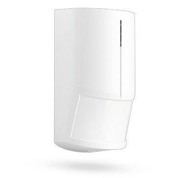 O detector de movimento Jablotron JS 20LARGO PIR é usado para proteger o interior. Ele detecta qualquer movimento de objectos com uma temperatura que é próxima da do corpo humano.