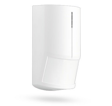 This Jablotron JS-20LARGO PIR motion detector is used to protect the interior. It detects every movement of objects with a temperature close to that of the human body.