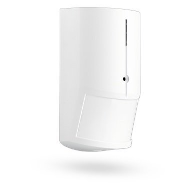 The Jablotron JS-25 COMBO is a two-in-one detector. It is combined with 2 sensors (PIR & glass break) in a housing with excellent RF immunity. It offers three independent outputs (PIR alarm, glass break alarm and tamper).