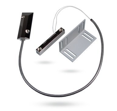 Jablotron SA-220 persiana enrollable contacto magnético con contacto con suelo. Contacto magnético cableado especialmente diseñado para persianas, puertas de garaje, etc.