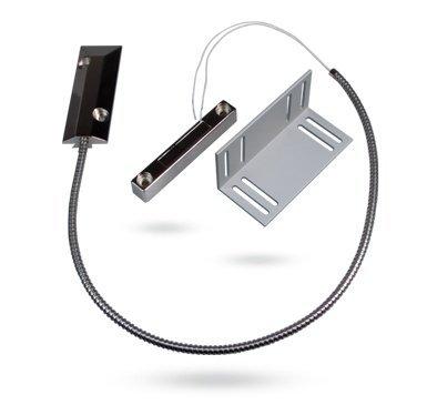 Jablotron SA-220 roldeur magneetcontact met vloercontact.<br /> Bedraad magneetcontact speciaal ontworpen voor roldeuren, garagedeuren etc.