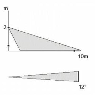 A lente cortina JS-7902. Esta lente de comprimento corredor tem um alcance de 10 metros