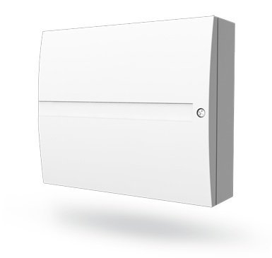 The Jablotron JA-83K alarm system is an advanced hybrid system of the Oasis system. It is a flexible system that makes it possible to secure small properties such as: family homes, offices and businesses, but the system also offers ...