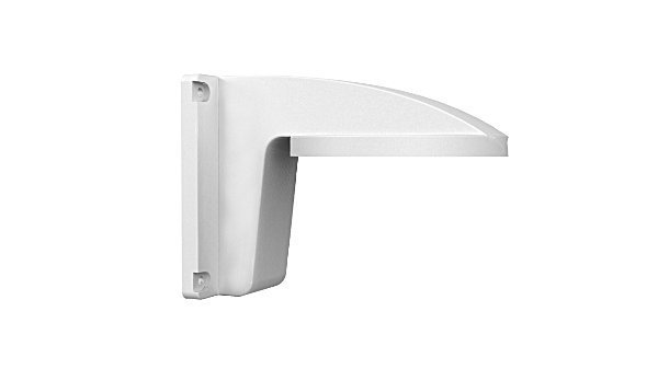 Hikvision plastic wall bracket DS-1258ZJ for DS-2CD21xx series IP dome camera. Also for some Turbo HD line cameras.