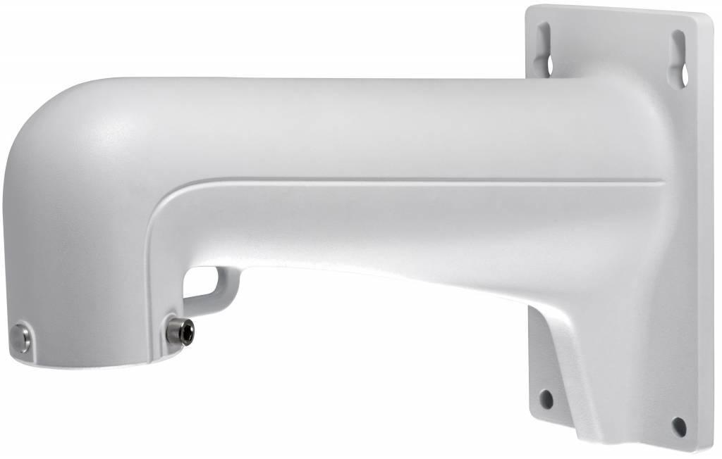 Hikvision suporte de parede de alumínio que serve, inter alia, a partir de câmaras PTZ Hikvision tais como o DS-2DE4182, 2DF5284, 2DE7174A e 2DE7184 / 7284-A câmara cúpula PTZ IP, e mais.