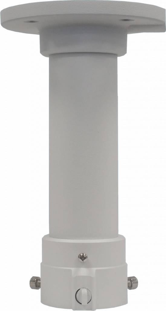 Plafondmontage bevestiging met 20cm verlengingspijp t.b.v. Hikvision PTZ domes <br /> DS-2DE4182, 2DF5284, 2DE7174A en 2DE7184/7284-A PTZ IP domecamera.