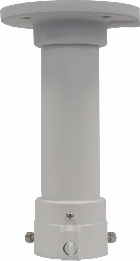 Fixation de montage au plafond avec 20cm tuyau d'extension pour les dômes PTZ Hikvision DS-2DE4182, 2DF5284, 2DE7174A et 2DE7184 / 7284-A caméra dôme IP PTZ.