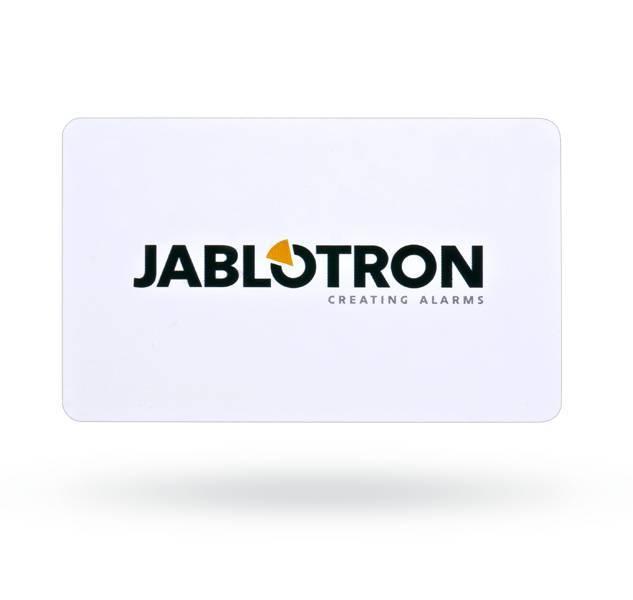 O cartão de acesso JA-190J RFID para o sistema JA-100.