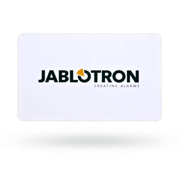 The Jablotron JA-190J RFID access card for the JA-100 system.