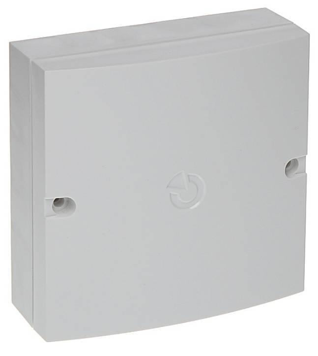 Le boîtier d'installation multifonction JA-190PL peut être utilisé pour différents modules du système JA-100.