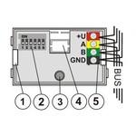 Jablotron JA-110i secção BUS / saída de indicador de activação PG