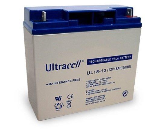 Maintenance-free rechargeable lead-calsium Jablotron SA-214-18Ah battery, suitable for JA-83K and JA-106.