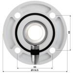 Hikvision Montaggio DS-1662ZJ soffitto tubo 50 centimetri