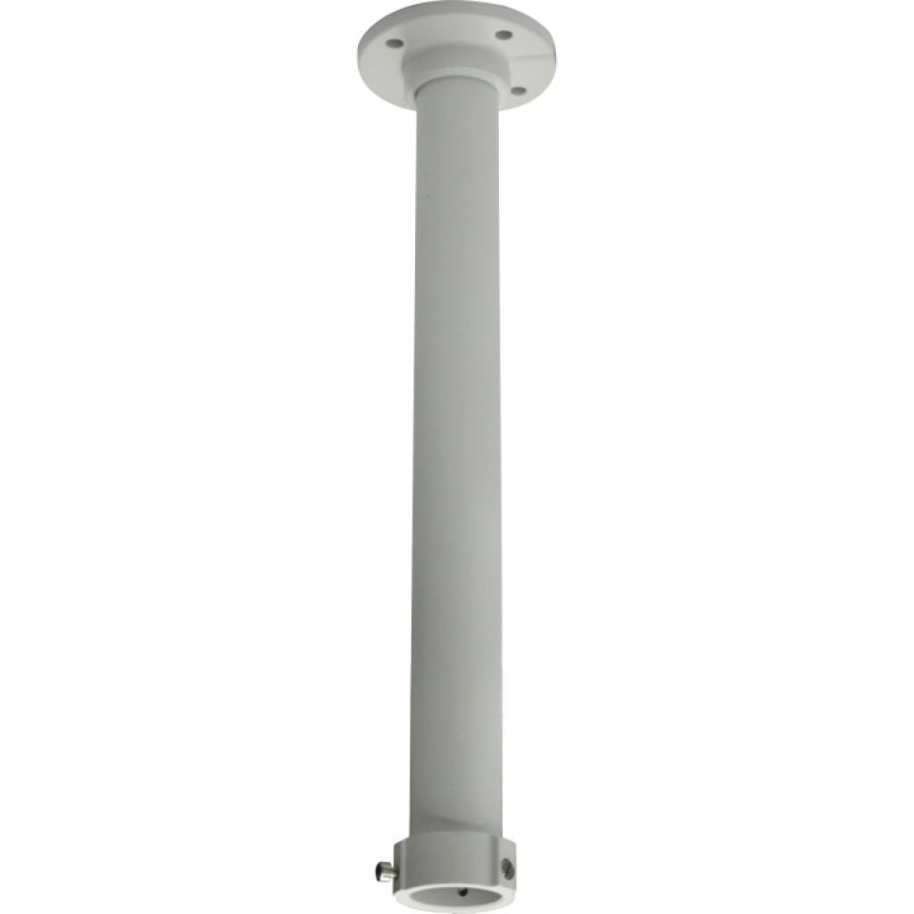 Ceiling mounting with 50cm extension pipe for Hikvision PTZ domes DS-2DE4182, 2DF5284, 2DE7174A and 2DE7184 / 7284-A PTZ IP dome camera.