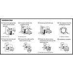 Hikvision DS-1273ZJ-130TRL aluminium wandbeugel